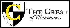 Crest of Clemmons Logo